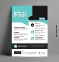 Business Flyer Template. vector