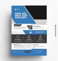 Business Brochure Modern Flyer Design vector
