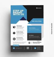 Business Corporate Flyer Vector Design