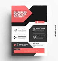 Corporate A4 Flyer Template.