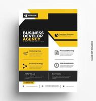 Corporate A4 Print Template. vector