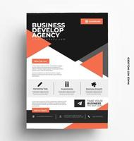 Print Ready of A4 Flyer Template.