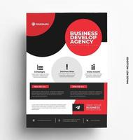 Sleek Professional A4 of Flyer Template.