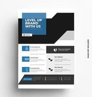 Brochure Flyer Template Design vector