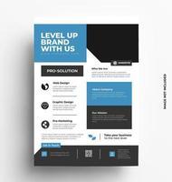 Brochure Flyer Design Layout Template vector