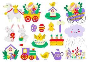 Easter Vector illustration for banner