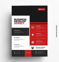 Professional Corporate of Flyer Template.