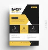 Multipurpose Corporate Business Flyer. vector