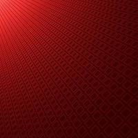 Abstract red gradient background with diagonal perspective square pattern texture. vector