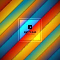 Patrón de rayas de colores rayas abstractas fondo geométrico diagonal. vector