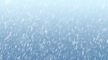 fundo de vídeo de flocos de neve de natal video