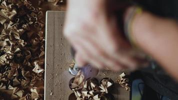 fresa para madeira video