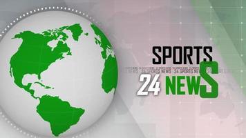 introdução de notícias esportivas