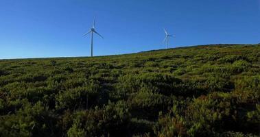 turbinas de energía eólica video