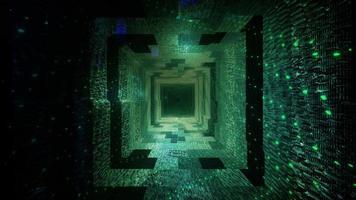 túnel de luces y sombras oscuras video