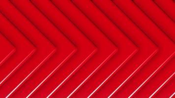 Patrón de triángulo rojo abstracto 3d