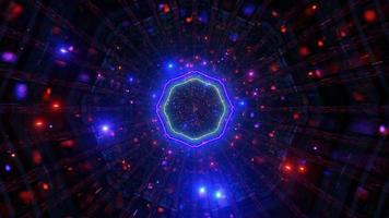 partículas de túnel de fantasia subaquática