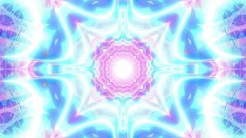 Farbwechsel Neon VFX 3D Illustration VJ Schleife