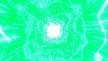 puntos neón nexus verdes