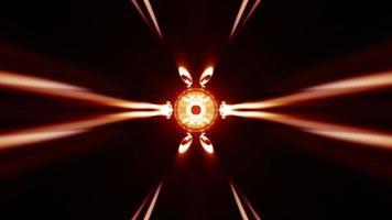 padrão de caleidoscópio de luz video