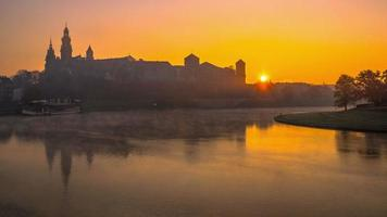 Wawel Castle at Sunrise