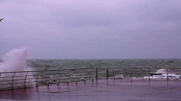 Storm on the Black Sea video