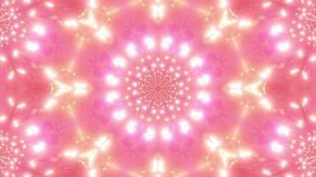 luzes piscando túnel espacial ilustração 3D visual vj loop