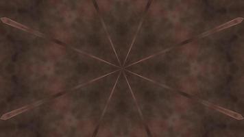 Star shaped smoke and fog 3d illustration vj loop video
