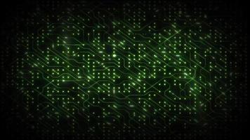 boucle de fond de jeu de puces informatiques de technologie