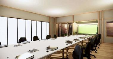 la grande entreprise de bureau - belle salle de réunion japonaise