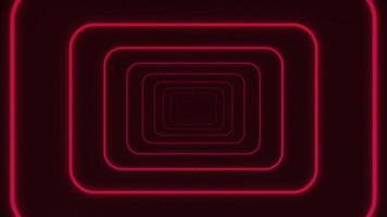 Abstract Eighties Outline Stripe Shapes Tunnel Background Loop