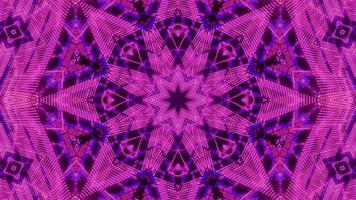 Implosion stars blinking dots kaleidoscope motion design