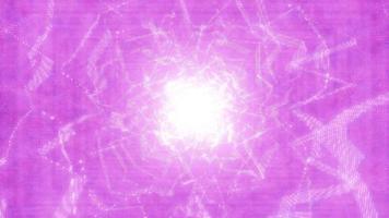 brilhante brilhante espaço galáxia ilustração 3d vj loop