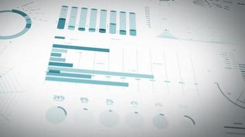 Business Statistics, Market Data And Infographics Layout video
