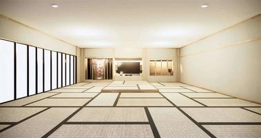 de grote lege kamer animatie in Japanse stijl