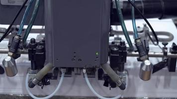 equipo de trabajo en la fábrica de impresión