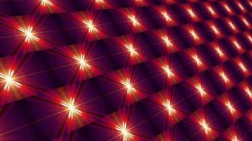matriz de grade holográfica de padrão verificador