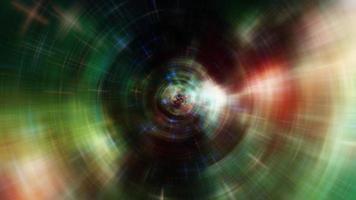 onda gravitacional espiral abstrata video