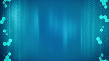 fond abstrait hexagones bleus