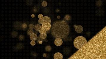 contagem regressiva de dez segundos com texto dourado