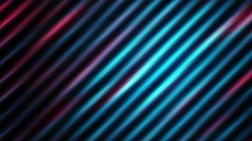 strisce di luce della metropolitana geometriche rosse blu diagonali