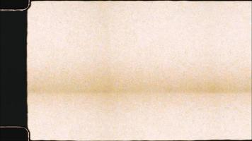 sovrapposizione di pellicola Super 8 tremolante in stile vintage