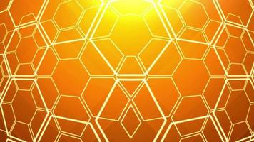Abstract Honeycomb Shape