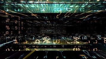 um labirinto de dados video