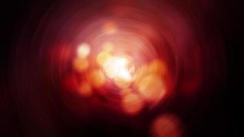 Natal dourado vermelho desfocado blur bokeh flare light