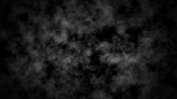 vj Schleife 3d Illustration schwarz und weiß grau Rauch oder Nebel