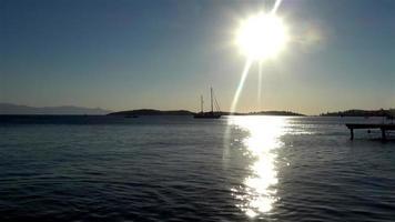 Abend Sommer Strand