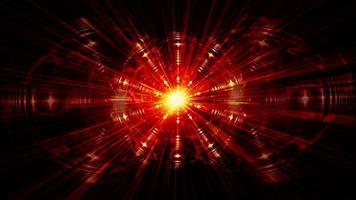 redemoinho tecnológico onda de luz hiperespaço túnel futurista video