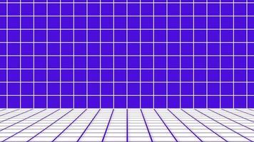 estilo retro 1980. fundo de ficção científica de grade de padrão abstrato