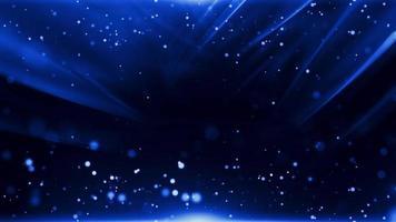 Fondo abstracto azul oscuro con efecto de luz en movimiento